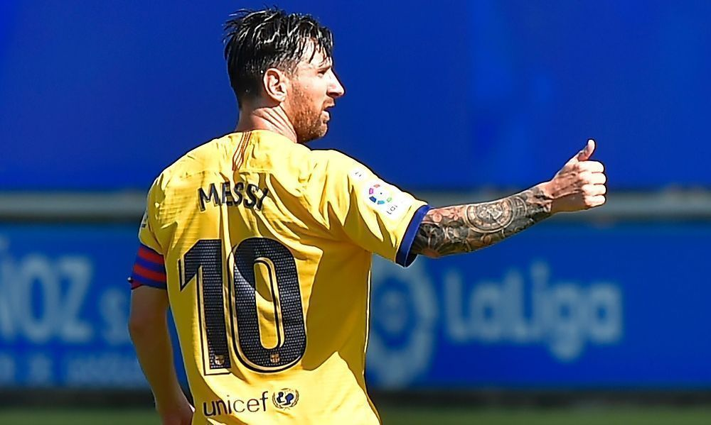 Lionel Messi holt sich Assist-Rekord