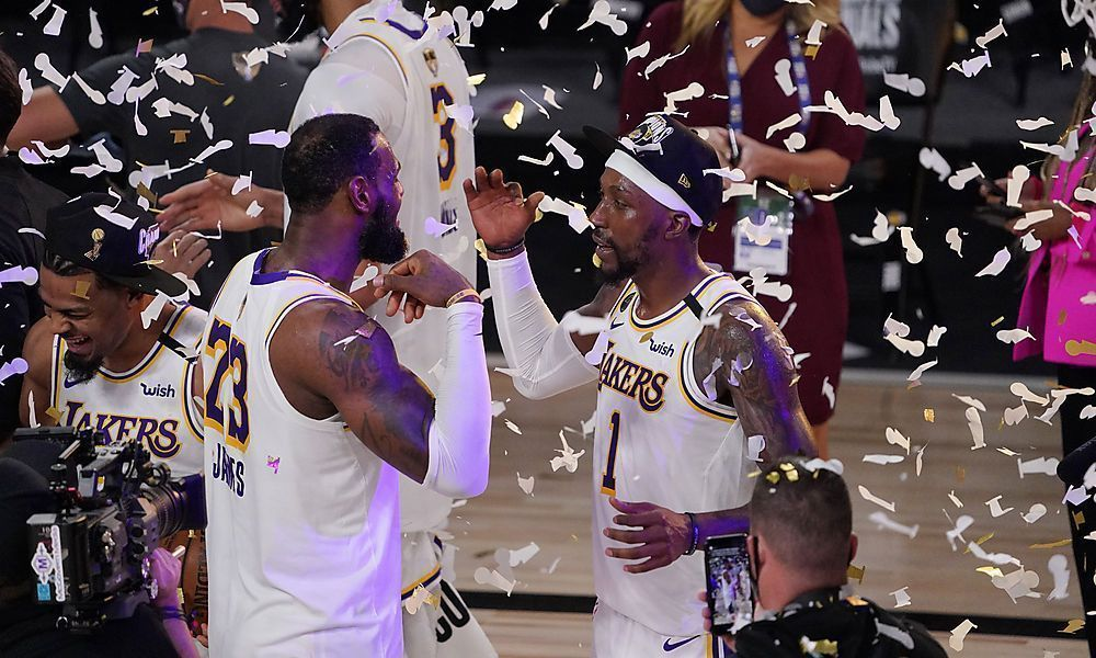 Lakers zum 17. Mal NBA-Champion