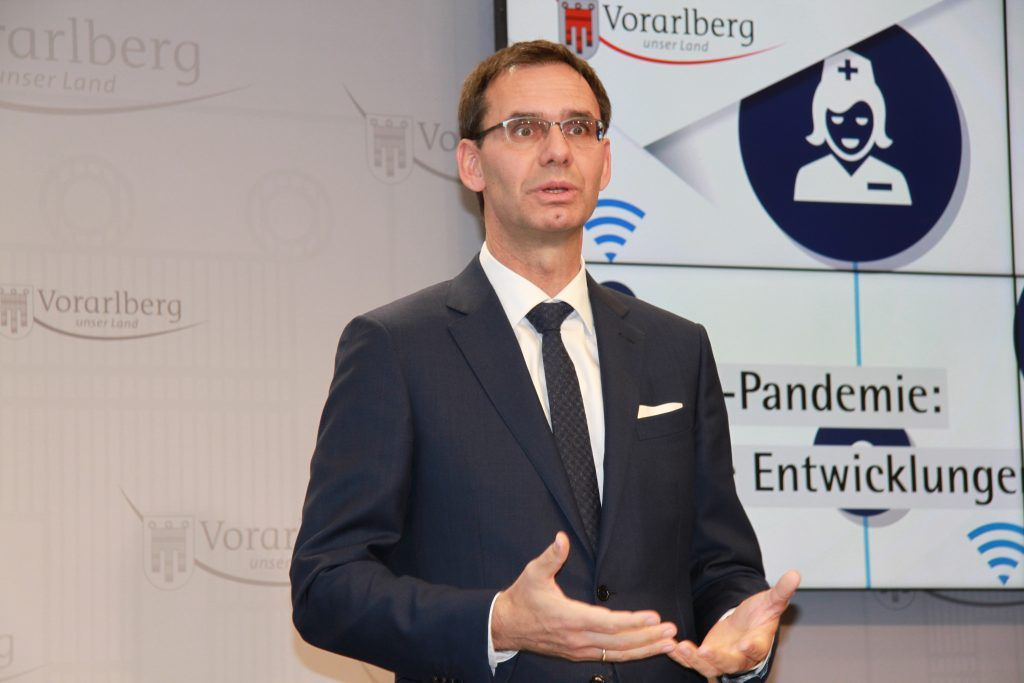 Wallner erneut im Homeoffice